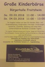 Große Kinderbörse Froitzheim