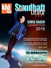 Standhaft Liederlich Chris Rasch Liedertour 2018