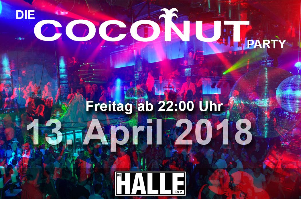 Coconut Party In Köln Am 13042018 Die Halle Tor 2