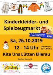 Kinderkleider- und Spielzeugmarkt Uns Lütten Ellerau
