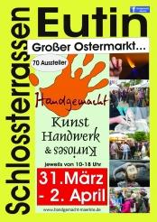 1. großer Eutiner Handgemacht-Kunsthandwerkermarkt über die Ostertage