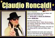 Claudio Roncaldi live