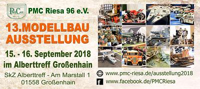 13. Modellbauausstellung des PMC Riesa 96 e.V.