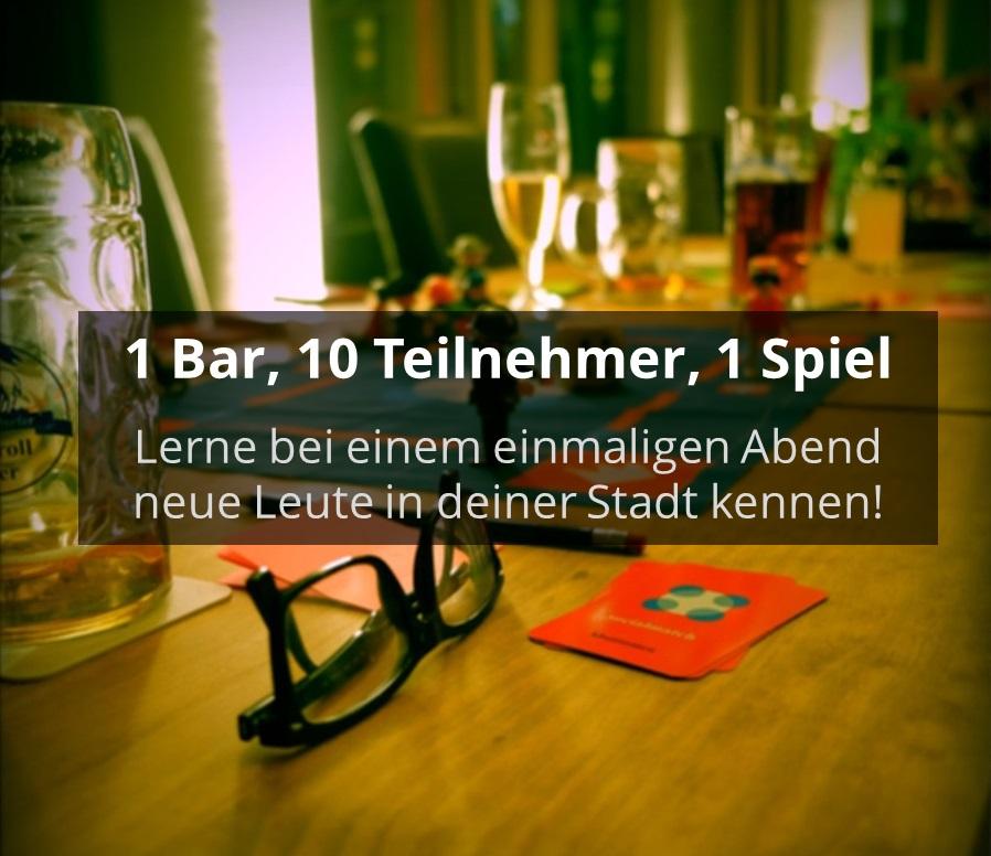 Lerne spielend neue Leute aus Nürnberg kennen! - Socialmatch
