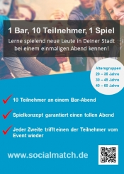 Lerne spielend neue Leute in Frankfurt kennen! - Socialmatch