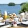 Ostern: Brunch im Hotel am See nahe Kiel
