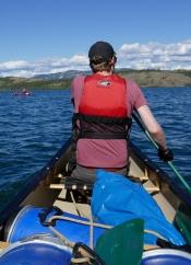 Mit dem Kanu den Yukon entlang