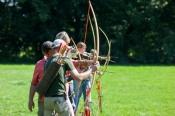 Intuitives Bogenschießen für Anfänger in Köln (Freiluga)