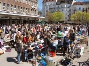 Flohmarkt Marie-Jonas-Platz
