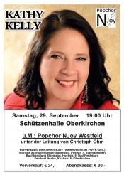 """Kathy Kelly & Popchor """"NJoy"""" Westfeld"""