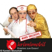 Mord beim Festbankett - Krimimobil Ahoi: Krimi und Dinner auf der Spree
