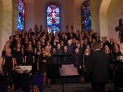 "Gospelnacht der Chöre ""Gospel meets Broadway"""