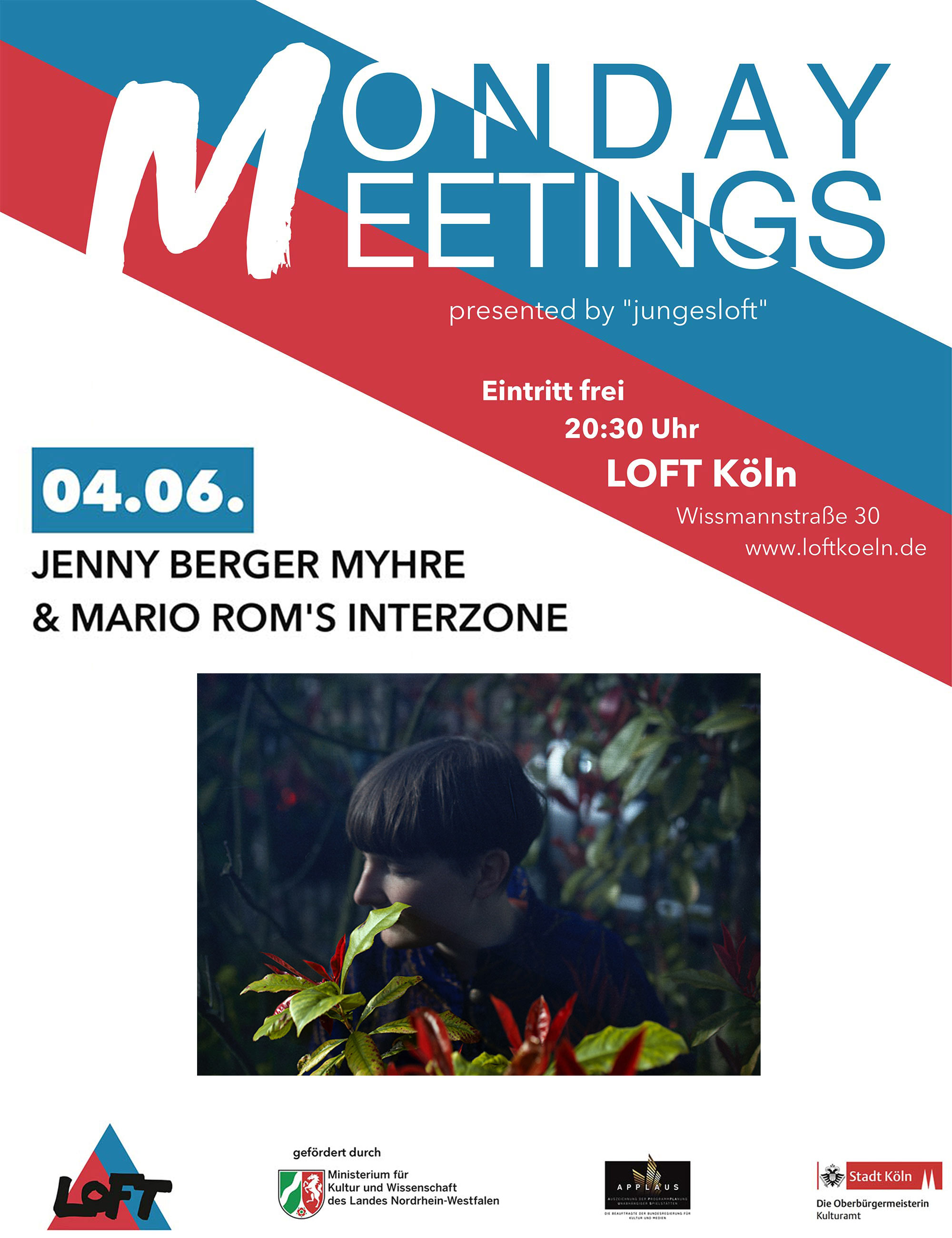 Monday Meetings #4: Jenny Berger Myhre & Mario Rom´s Interzone