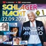 Schlagernacht 1 Nino de Angelo, Nadine Maikler, Eli Melinda u.v.a.