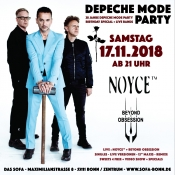 28 Jahre Depeche Mode Party + Live Bands