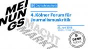 4. Kölner Forum für Journalismuskritik