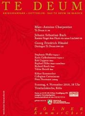 Charpentier und Händel: Te Deum - Bach: Singet dem Herrn