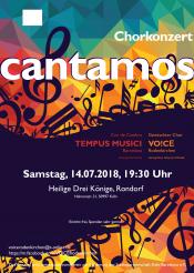 Chorkonzert | Cantamos - Barcelona meets Köln