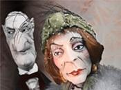 Der Besuch der alten Dame - Figurentheater