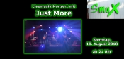 Livemusik-Konzert mit Just More