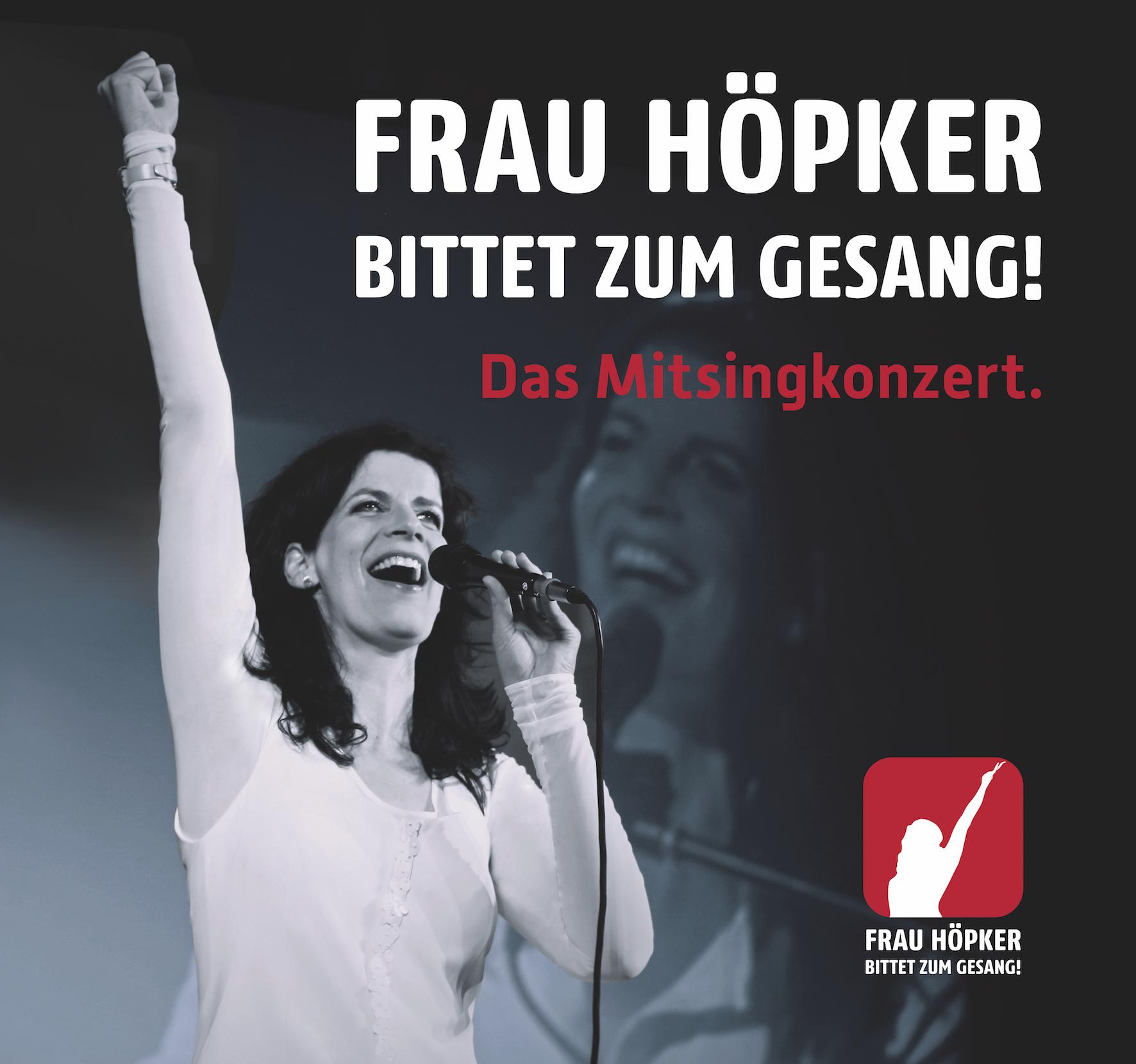 Frau Höpker bittet zum Gesang!