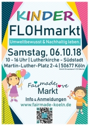Flohmarkt Kinder - Fair Made Love Markt