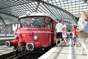 Schienenbustour: Rund um Köln und in den Deutzer Hafen