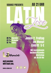 Latin Love Party mit Bachata, Kizomba und Salsa