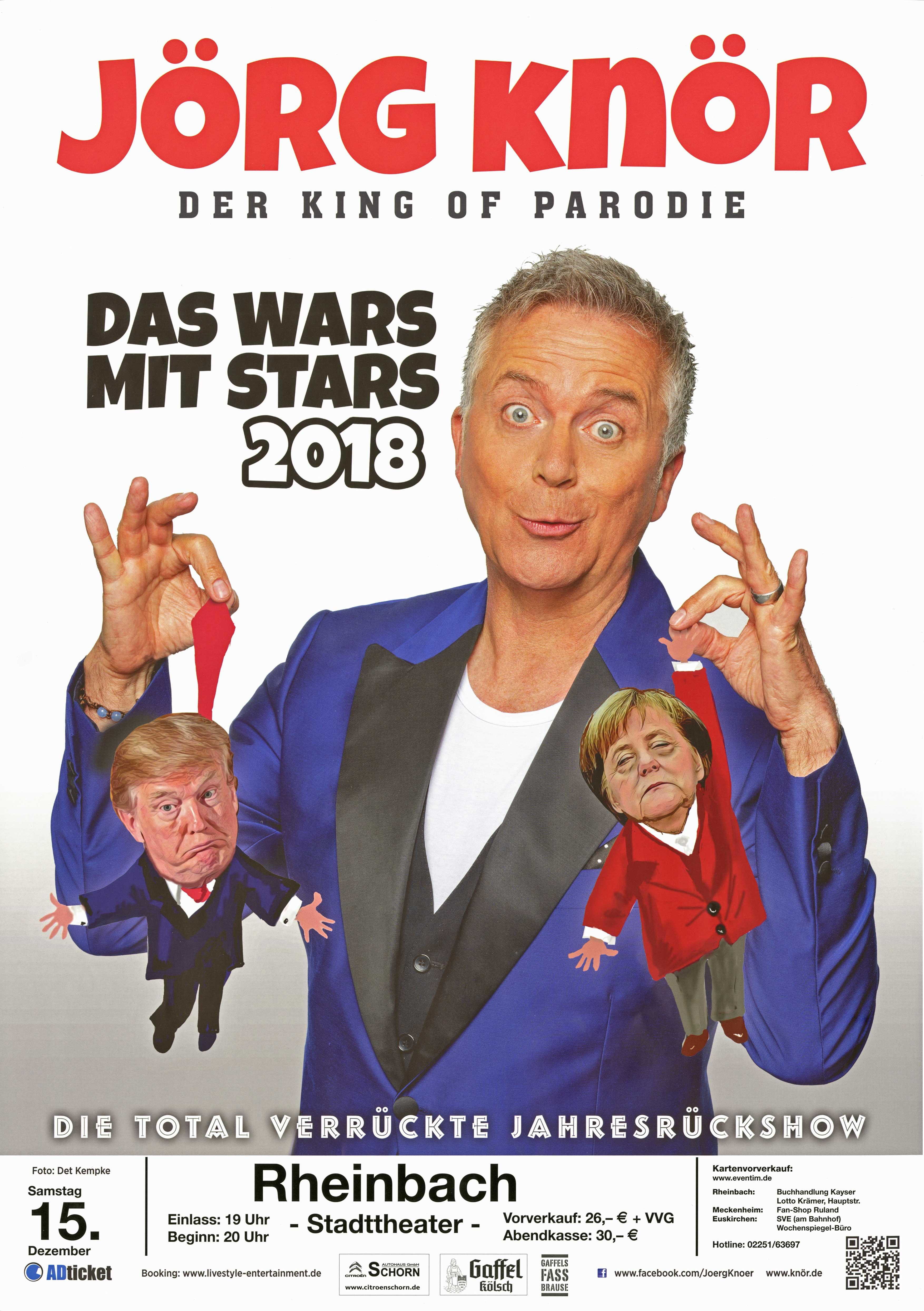"Jörg Knör ""Das Wars Mit Stars  2018"""