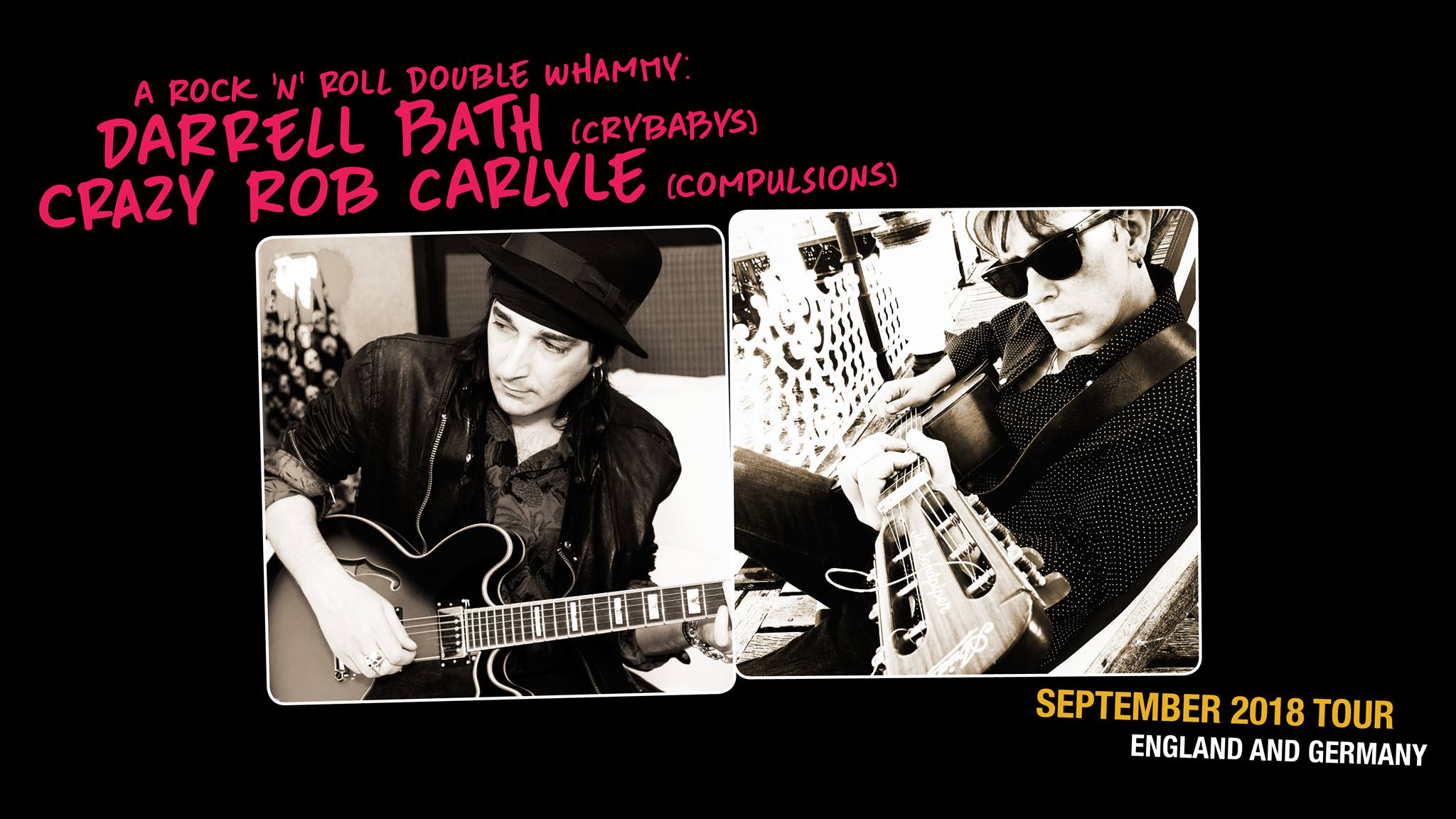 Darrell Bath (Ex-uk Subs) + Rob Carlyle (The Compulsions)