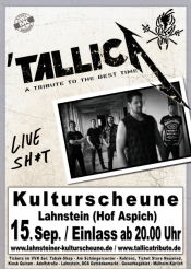 TallicA - Tribute Show to Metallica