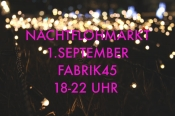 Nachtflohmarkt in der Fabrik45