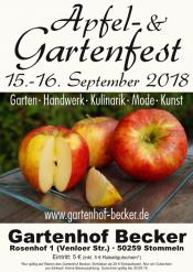 Apfel- und Gartenfest