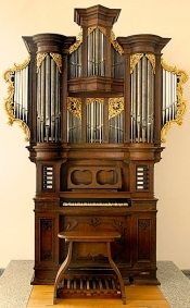 J. S. Bach auf der Teschemacher-Orgel von 1743
