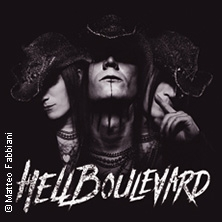 In Black We Trust Tour 2019 HELL BOULEVARD (CH) supp.: supp.: JOHNNY DEATHSHADOW