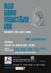 """""""  Das  Missverständnis  """"  Schauspiel  von  Albert  Camus"""