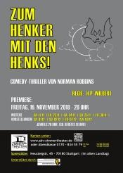 """""""  Zum  Henker  mit  den  Henks!  """"  Comedy-Thriller  von  Norman  Robbins"""