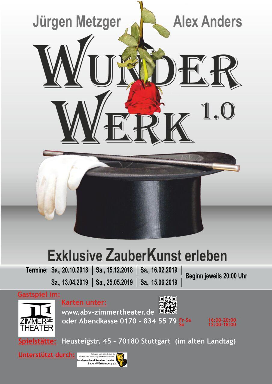"""""""  WunderWerk  1.0  """"  mit  Jürgen  Metzger  und  Alex  Anders"""