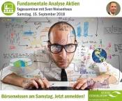 Fundamentale Analyse Aktien - mit Sven Weisenhaus