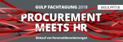 Fachtagung: Procurement meets HR