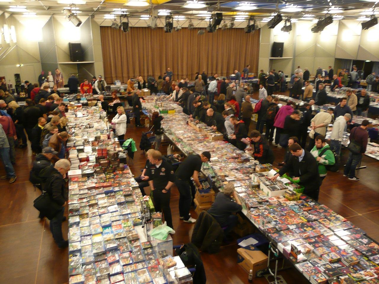 Schallplatten- & CD-/DVD-Börse