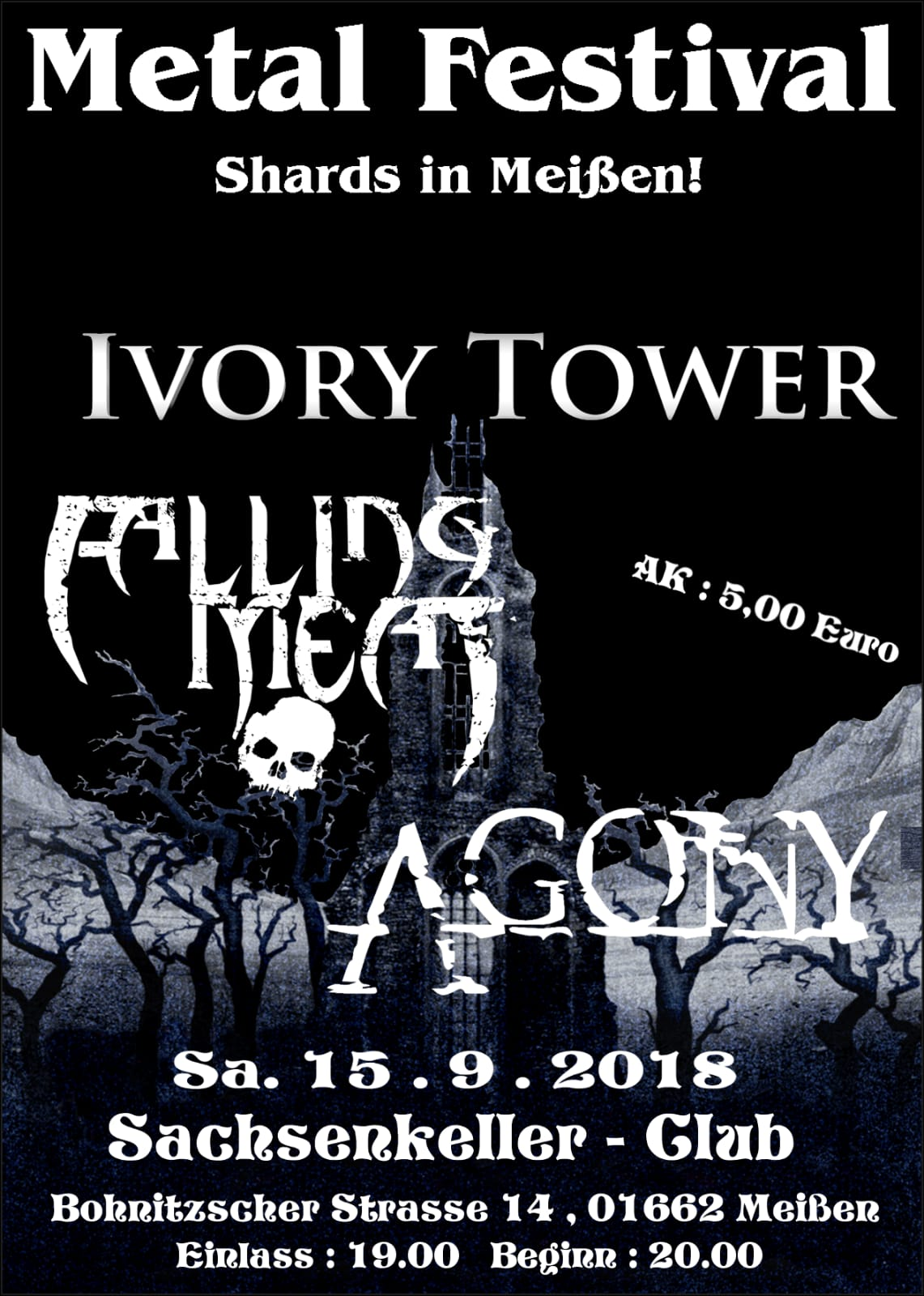 Shards In Meißen!!! Metal Festival!