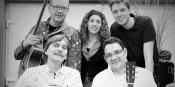 Constantin Jansen mit Band