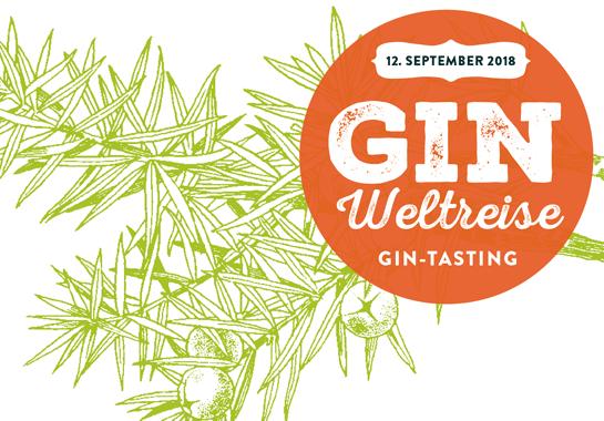 Gin-taasting: Gin Weltreise