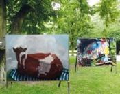 """""""Das irdische Paradies"""", Ausstellung im Freien"""