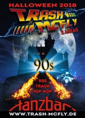 Trash Mcfly - 90s Horror Halloween Auf 2 Areas !!!