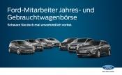 Ford Mitarbeiter Jahres- und Gebrauchtwagen-Börse