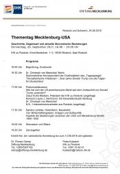Thementag Mecklenburg - USA