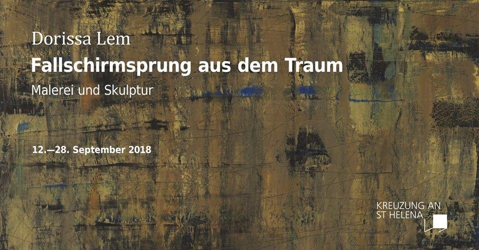 """Ausstellung: Dorissa Lem """"Fallschirmsprung aus dem Traum"""""""