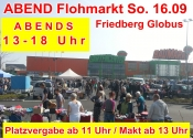 ABEND Flohmarkt in Friedberg